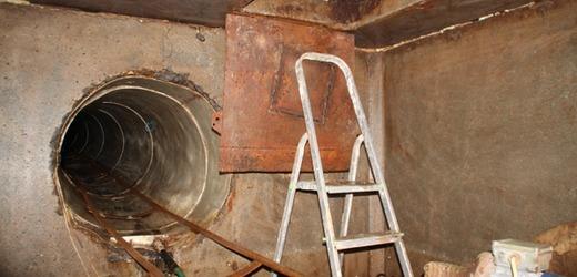 Obrázky: Cezhraničný pašerácky tunel